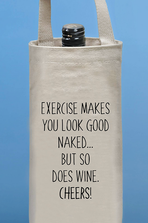 Exercise Wine Tote