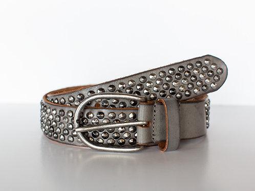 Grey Stud Belt