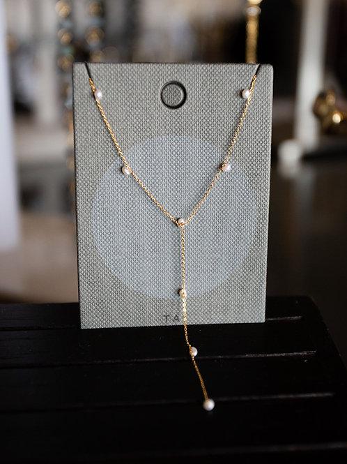 Tai Bead Long Necklace