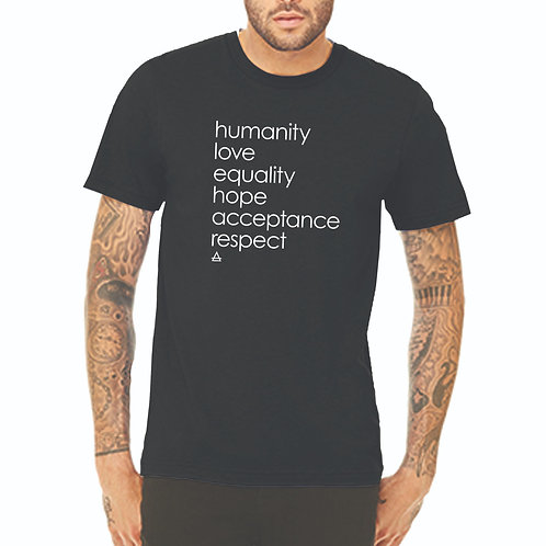 Humanity Men's Short Sleeve Tee
