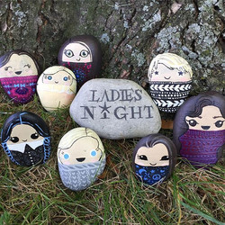 #BeALittleBoulder #OurStaffRocks Join us for Ladies Night! Weds, Sept 20 at 6pm_ You Rock, Painting