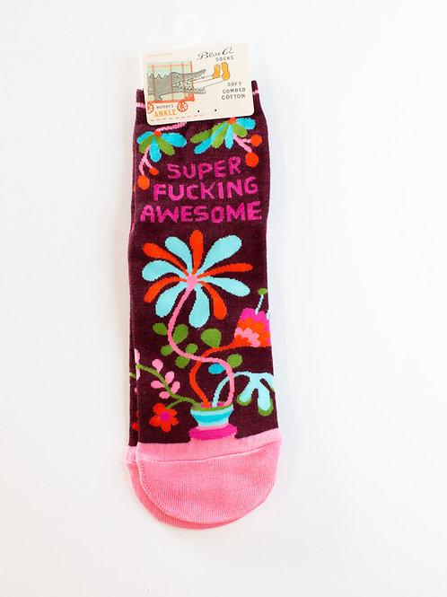 Super Fucking Awesome Socks