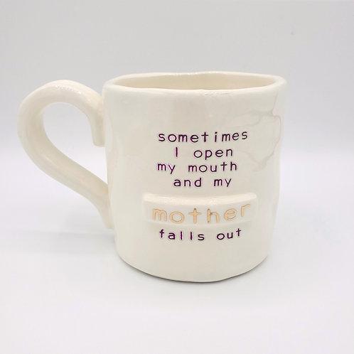 Open My Mouth Mug