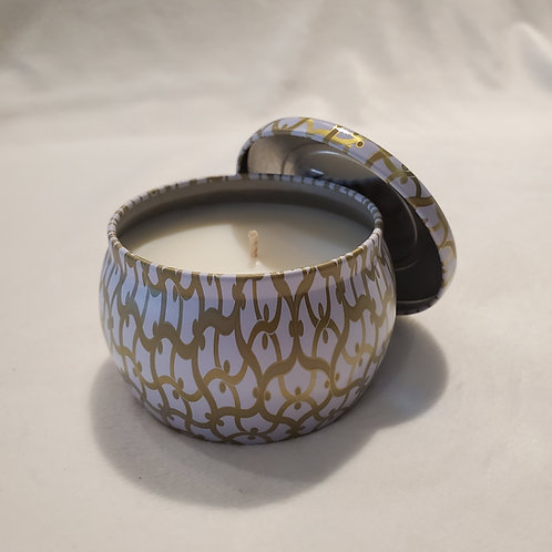 Suede Blanc Petite Candle