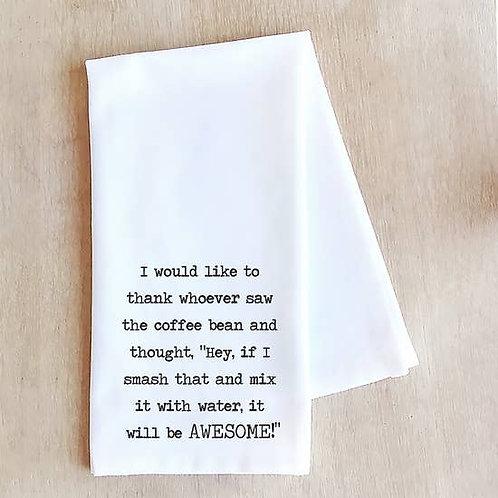 Tea Towel Would Like To Thank