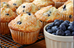 Tiger nut Blueberry Muffins
