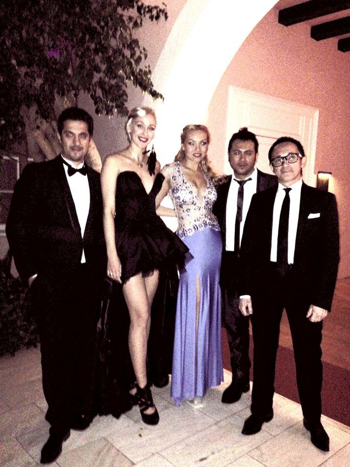 Dinara_DJ Legacy_Oxana@ Hotel Bel Air LA.
