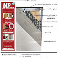 MP Strong Wall EIFS Stucco System