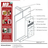 MP Classic EIFS Stucco System