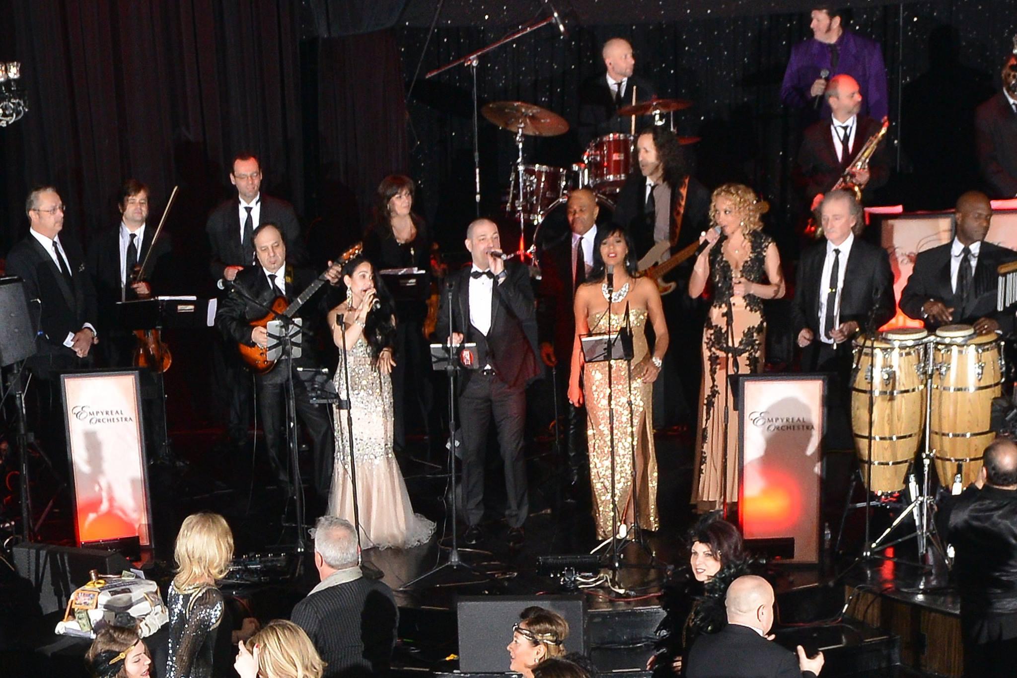 Dinara&Empyreal Orchestra@ Edison Ballroom NY.