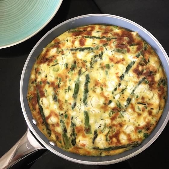 Recipe: Spring Green Vegetable Frittata