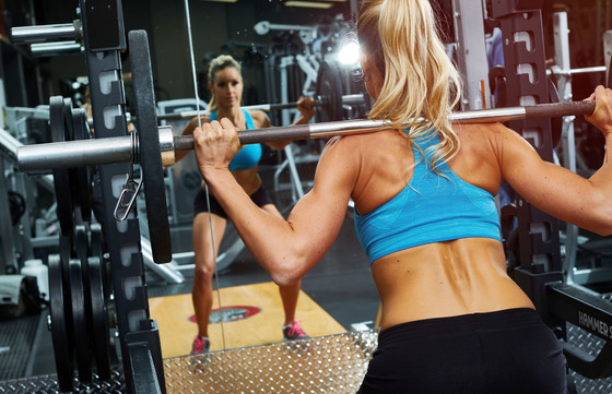 """""""I don't lift weights because I don't want to bulk up"""" said way too many women, wa"""