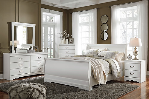 Anarasia Bedroom 6 piece Set (Queen)