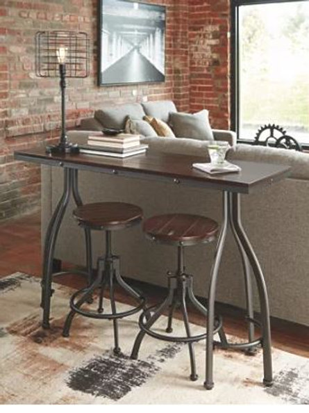 Odium Counter Height Dining Room Table and Bar Stool