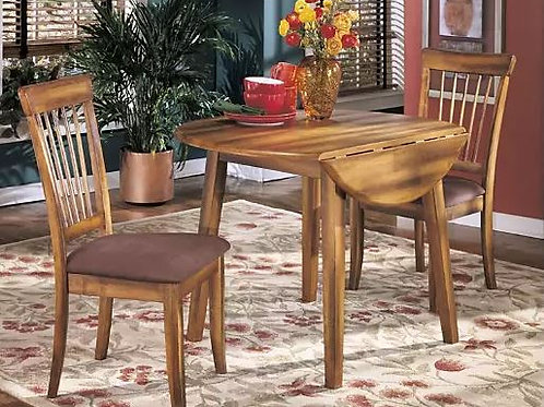 Berringer Dining Room Drop Leaf Table & 2 Chairs (3pc Set)