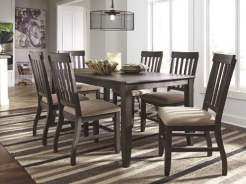 Dresbar Rectangular Dining Room Set Table and Chairs