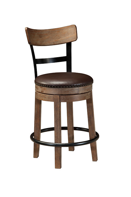 Pinnadel Swivel Barstool