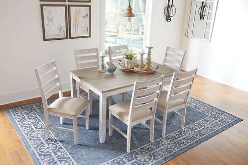 Skempto Dining Room Table Set (7 pc set)