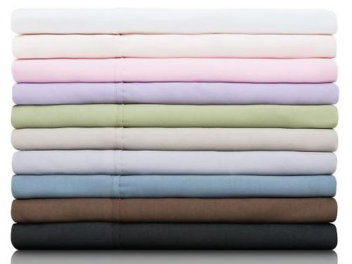 Woven Brushed Microfiber Sheet Set - Twin