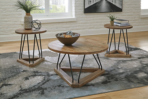 Frielone Occasional Table Set (3 piece group)
