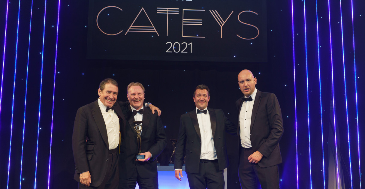 """Winners """" A Passion to Inspire """" Catey Award 2021- Education and Training"""