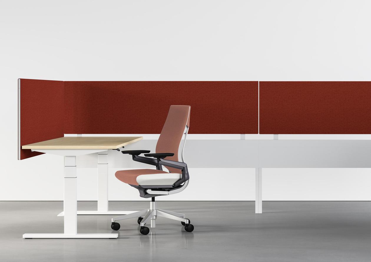 Designtex drop02 Billiard Cloth + Panel RoseQuartz303+Rust703