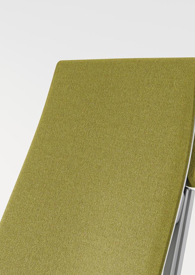 Designtex drop02 Billiard Cloth + Panel Citron501