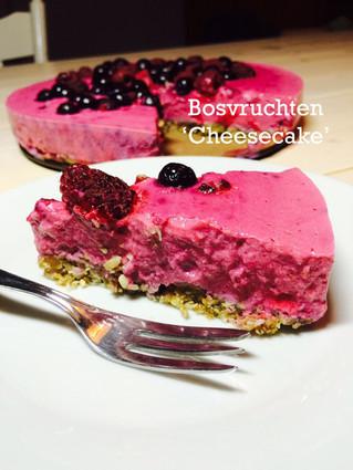 Bosvruchten 'cheesecake'