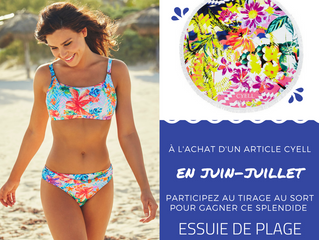 🎁 Concours & action Cyell  🏖️