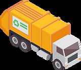 Entsorgungsfahrzeug für Abfalltransporte.