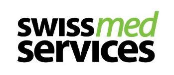 swiss med services ist ein Transportlogistikunternehmen im Bereich Gesundheitswesen.