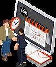 Kundenmanagement, welches in der Transportsoftware integriert ist.
