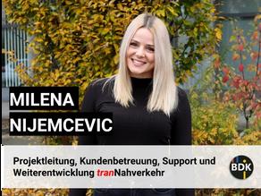 Mitarbeiter Portrait: Milena Nijemcevic