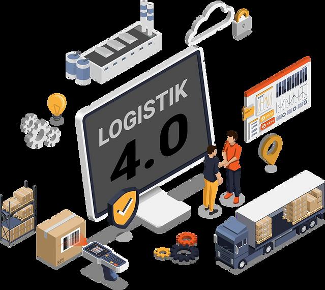 Logistik 4.0 und die Digitalisierung des Gütertransportes ist die Grundlage für die Industrie 4.0.