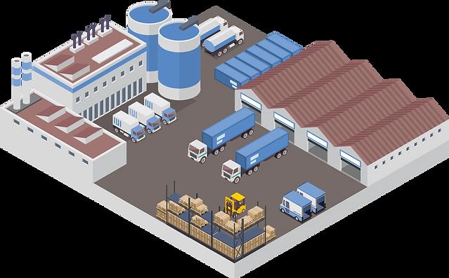Transportlösung mit integriertem Flottenmanagement und Tourenplanung.