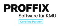 Logo der Softwareanbieterin Proffix.