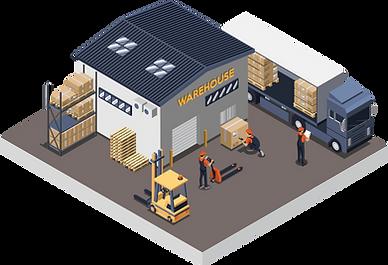 LVS Lagerverwaltungssystem für Transportunternehmen.