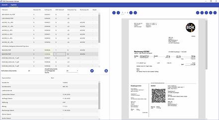 QR-Rechnung im Dokumentenmanagementsystem.