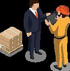 Packstückscanning und mobiles Quittieren