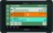 Die erledigten Aufträge werden direkt vom Fahre auf dem mobilen Android-Gerät rapportiert.