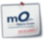Logo der Firma mobile Objects, welches auf die Telematik, das Flottenmanagement und die Fahrzeugortung spezialisiert ist.