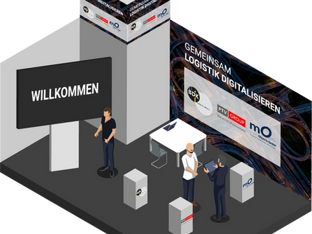 Digitaler Messestand