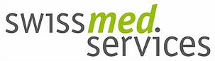 Logo des Transportlogistikunternehmens swiss med services.