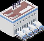 Transportmanagement für die Fahrzeugflotte von Schweizer Unternehmen mit eigener Transportabteilung.