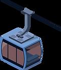 Seilbahn, welche Transportsoftware der BDK zur Sendungsverfolgung nutzt.