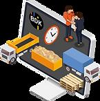 ERP System für Transportunternehmen.