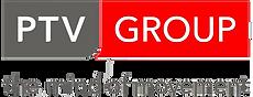 Logo der Firma PTV, welche Software zum Touren planen und Routen optimieren entwickelt.