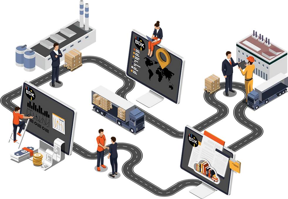 Digitale Transportprozesse entlang der Lieferkette