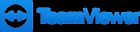 Logo des Fernwartungsprogramms TeamViewer.