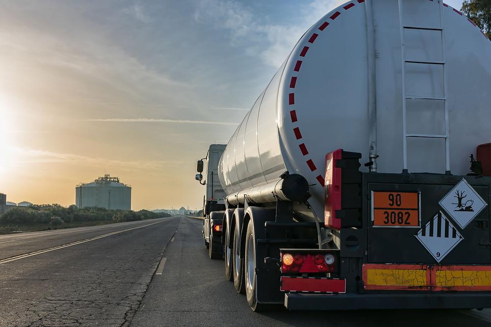 Transport von ADR Gefahrgut